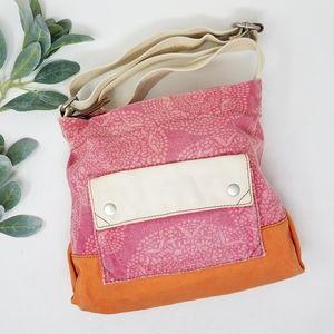 FOSSIL Canvas Crossbody Bag